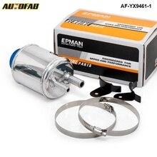Топливных Racing Мощность бачок системы рулевого управления насос Алюминий передышку бак с Кронштейны af-yx9461-1