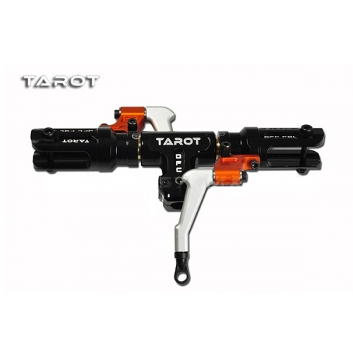 New 500 Flybarless Helicopter Part Tarot Split type DFC Main rotor head set Black TL50900 1