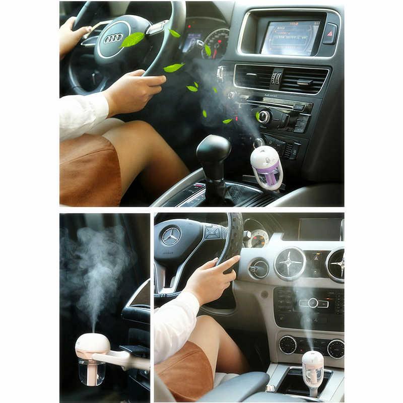 Samochód dyfuzor oleju aromaterapia odświeżacz powietrza Mist Maker Fogger nawilżacz samochodowy aromatyzowany odświeżacz powietrza niezbędny