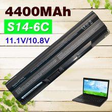 4400 mah batería para msi bty-s14 bty-s15 cr650 cx650 fr400 fr700 GE60 GE70 FX400 FX420 FX600 FX603 FR600 FR620 FR700 FR610 FX610