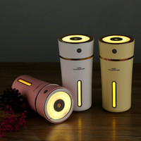 Songta 500mAh Battery Powered 300ML Cup Humidifier Aroma Lamp Ultrasonic Essential Oil Ultrasonic Diffuser Air Humidifier