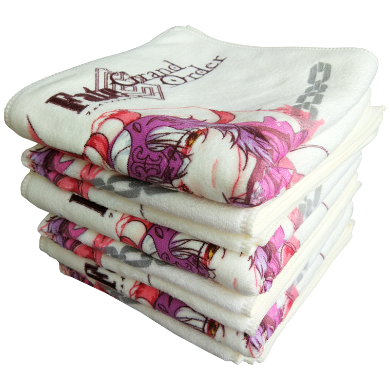 Anime Towel ,Fate/Grand Order Avenger Alter , Hot Water Gradient Color Bath Towels 70x35cm