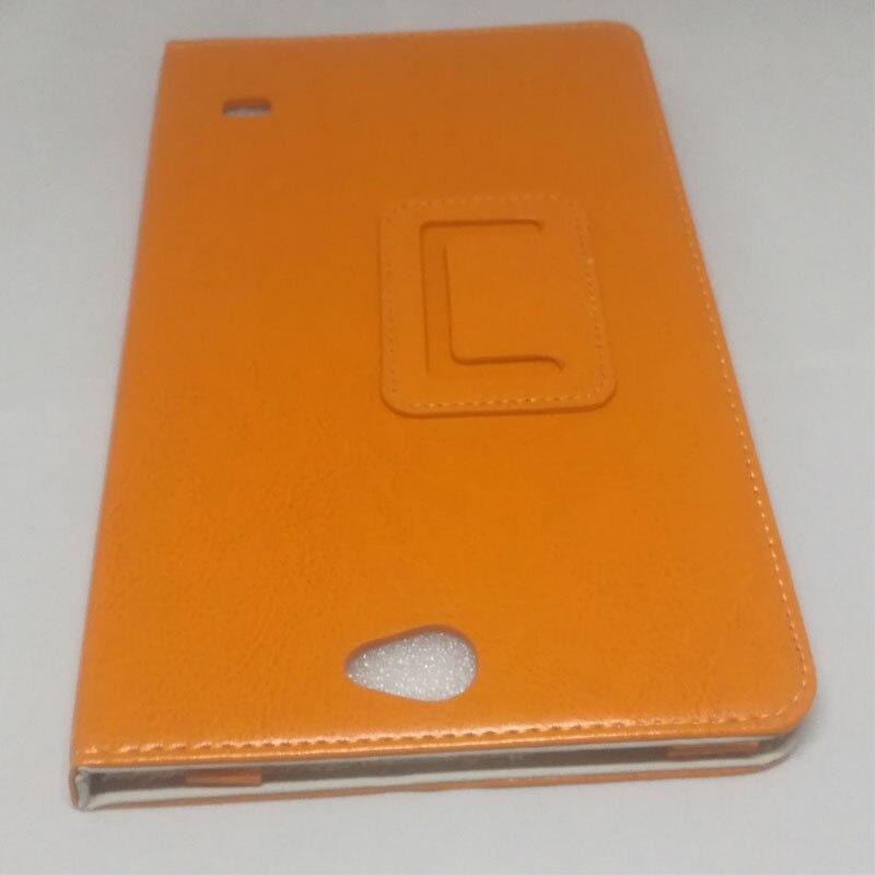 Myslc 8 дюймов Tablet Обложка для Тесла Neon 8,0 3g Магнитный искусственная кожа Стенд с Камера отверстие