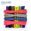 Парашютный шнур IQiuhike 208, 550 цветов, 31 метр, парашютный шнур, веревка спецификации Type III, 7-жильный инструмент для скалолазания, кемпинга, выжива...