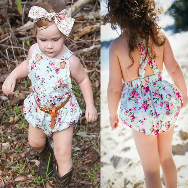 9cfb025e90cc New Hot 2015 Summer Baby Girl Rompers European Style 12M 4Y girl ...