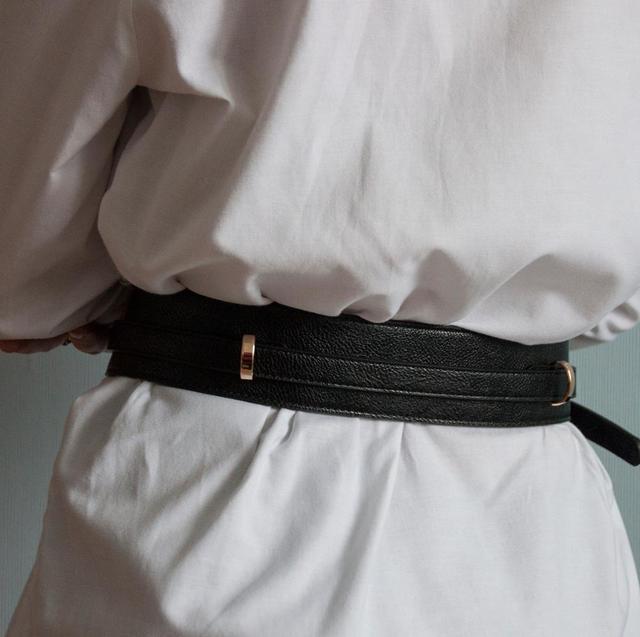 Brands Genuine Leather Cowskin Belts for Women Alloy Buckle Leather Buckle women's waist belt girdle crony bandwidth cummerbund 5