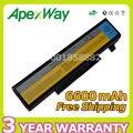 Apexway 9 сотовый 6600 мАч 11.1 В Аккумулятор для Ноутбука Lenovo IdeaPad Y450 Y450A Y450G Y550 Y550A 55Y2054 L08L6D13 L08O6D13 L08S6D13