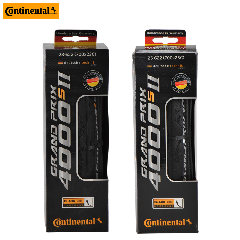 1pcs Continental Grand Prix 4000S II Race Racing Bicycle Tire 700 23c 25c 28c Foldable Road