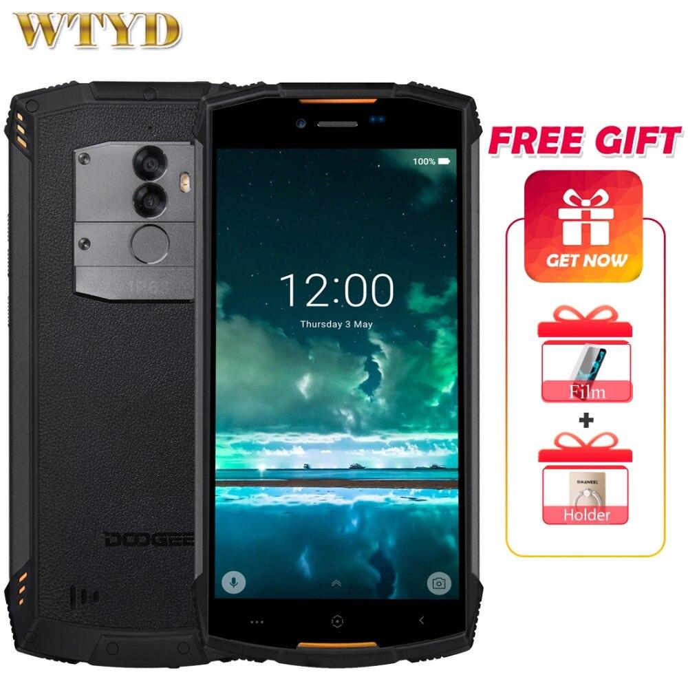 DOOGEE S55 Lite IP68 Waterproof 5 5inch Mobile phone Android 8 1 MTK6739 Octa Core 2GB