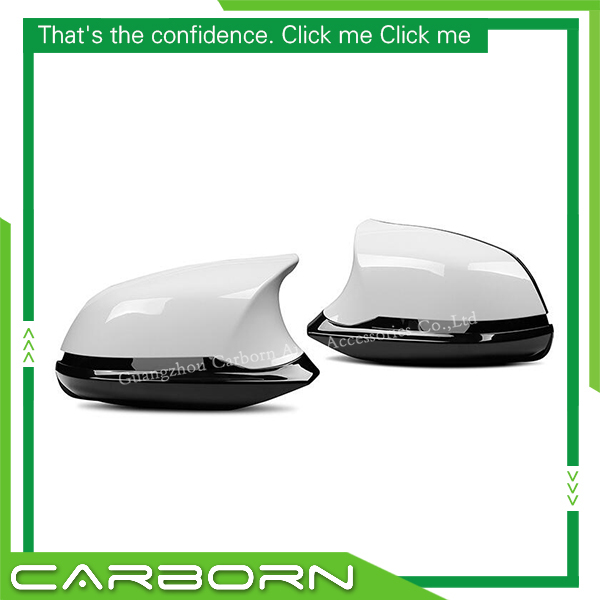 For BMW 1 2 3 4Series F20 F21 F22 F23 F30 F31 F32 F33 F36 X1 E84 Replacement ABS ABS Carbon Fiber Mirror Cover in Mirror Covers from Automobiles Motorcycles