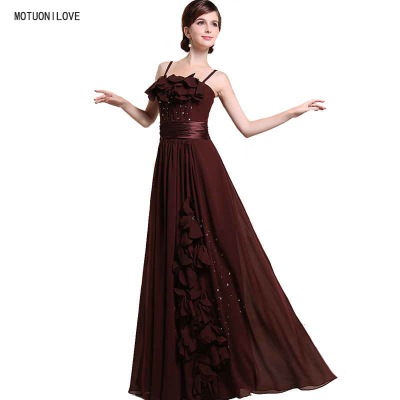 Real Photo Vintage Evening Dress Plus Size Evening Formal Gowns Flowers Special Occasion Long Gown For Wedding Party Custom Made