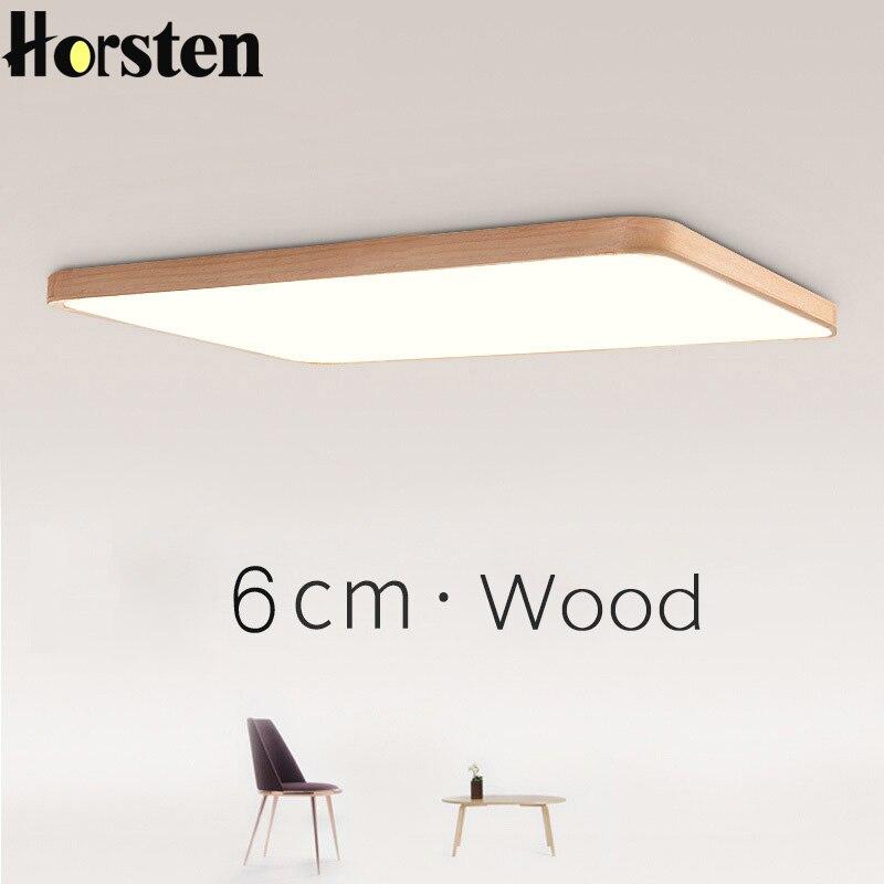 Nordic Einfache Moderne Eichenholz Deckenleuchte Ultra Dnne Japanische LED Deckenleuchten Fr Schlafzimmer Wohnzimmer Kche Arbeitszimmer Balkon