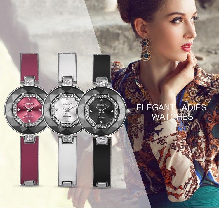 Nett 2018 Neue Mode Silber Edelstahl Paare Uhr Quarz-uhr Runde Frauen Kleid Uhren Montre Femme QualitäTswaren Uhren