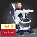 Free shipping Multifunctional spiritkids child dining chair baby high chair portable folding baby dining chairs