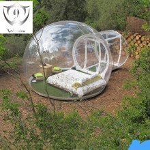 Wnnideo Outdoor Single Tunnel Inflatable Bubble Tent Family C&ing Backyard Transparent : outdoor bubble tent - memphite.com