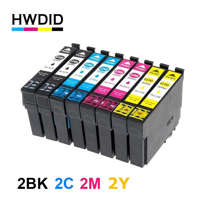 HWDID T2991 29 29xl 29XL para Epson Cartucho de Tinta Compatível para Epson XP 235 332 432 247 442 342 345