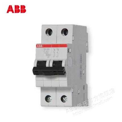 ABB circuit breaker air switch SH200 series switch 40A 2P bipolar dhl ems 5 lots original s ed43b100 sentron series circuit breaker a1