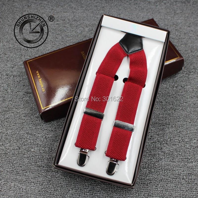 3.0cm unisex suspenders braces