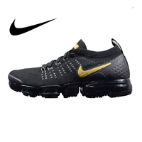 Original authentic NIKE Air MAX Vapormax FK men's running shoes outdoor lightweight comfortable and durable Classic 942842 009