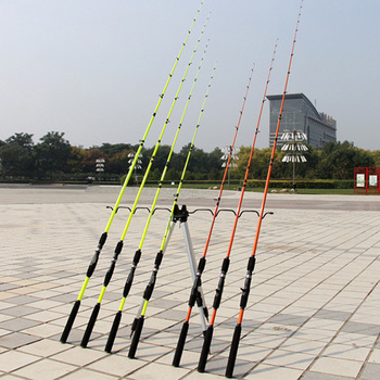 Lieyuwang 2 puntas 1,6 m 1,8 m señuelo caña de pescar enchufe de caña de pescar de carbono gran arrastre de fundición giratoria polo