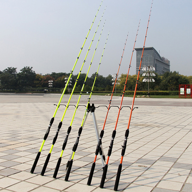Lieyuwang 2 spitze 1,6 mt 1,8 mt locken angelrute Plug-in angelrute Carbon große drag Spinning casting pol