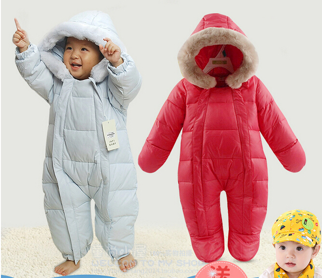 Baby Overall Snowsuit