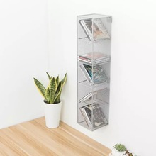 Cd-Rack Metal Office-Storage Finishing And Creative America 5-Grid Export Simple Home