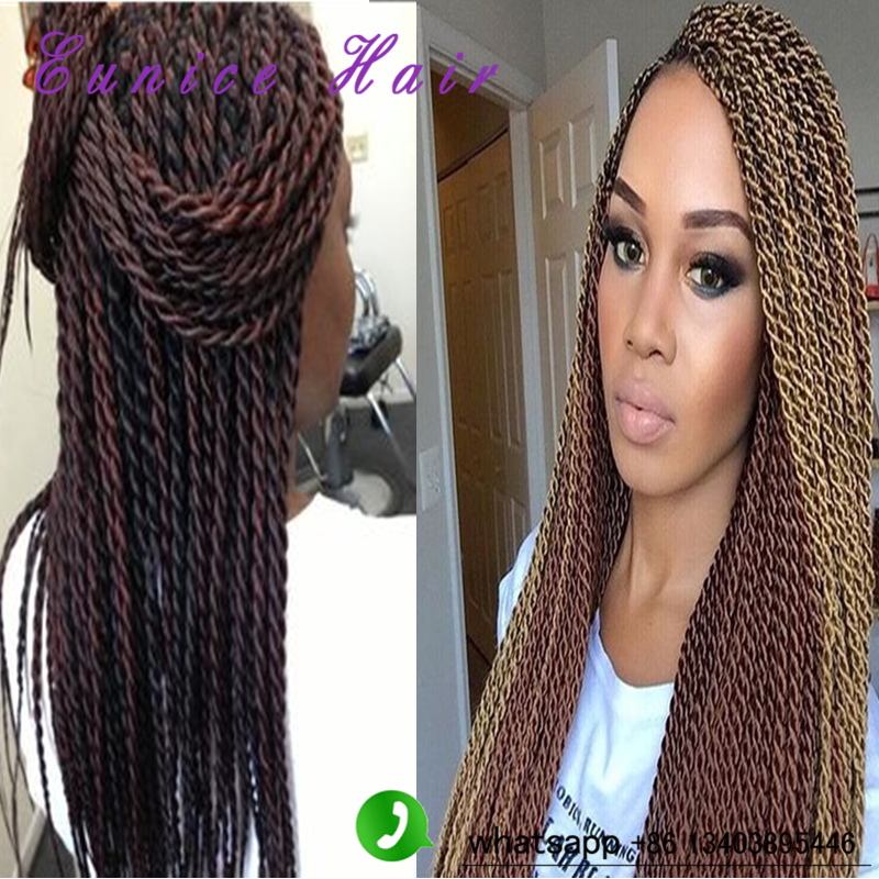 Fantastic Senegalese Twist 100G Pack Havana Mambo Twist Crochet Braid Hair Short Hairstyles For Black Women Fulllsitofus