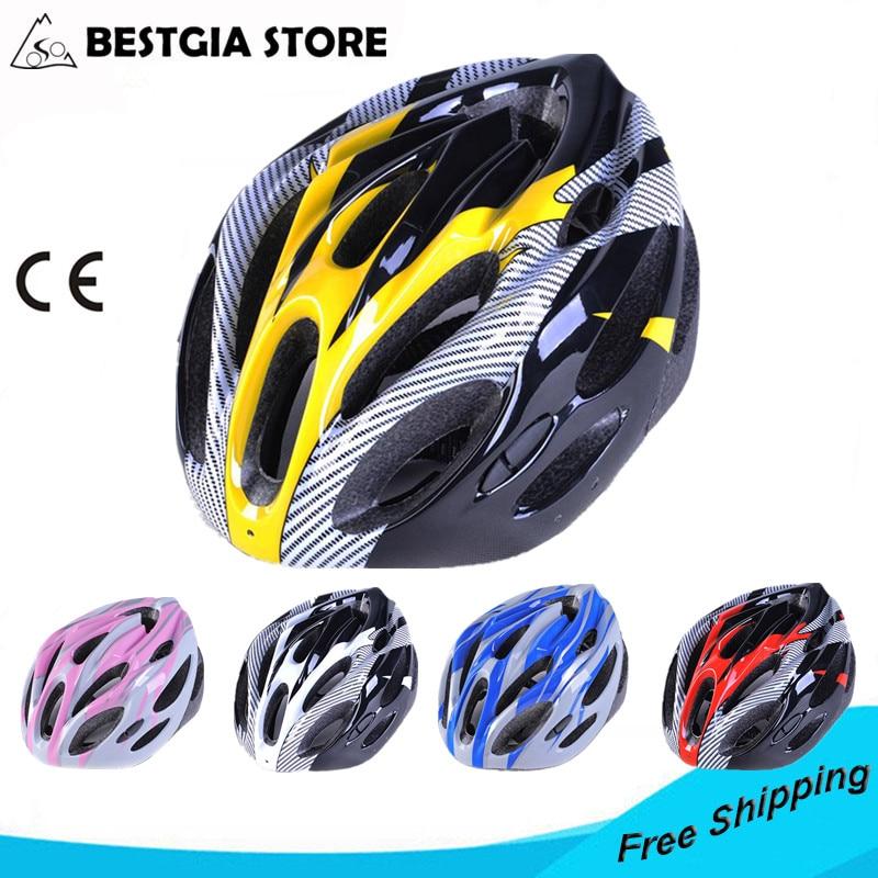 180g Ultralehký napodobit karbonovou silniční helmu vytrvalostní jízda na kole bezpečnost na kole sportovní sportovní přilba závodní Casco Ciclismo 54-62cm