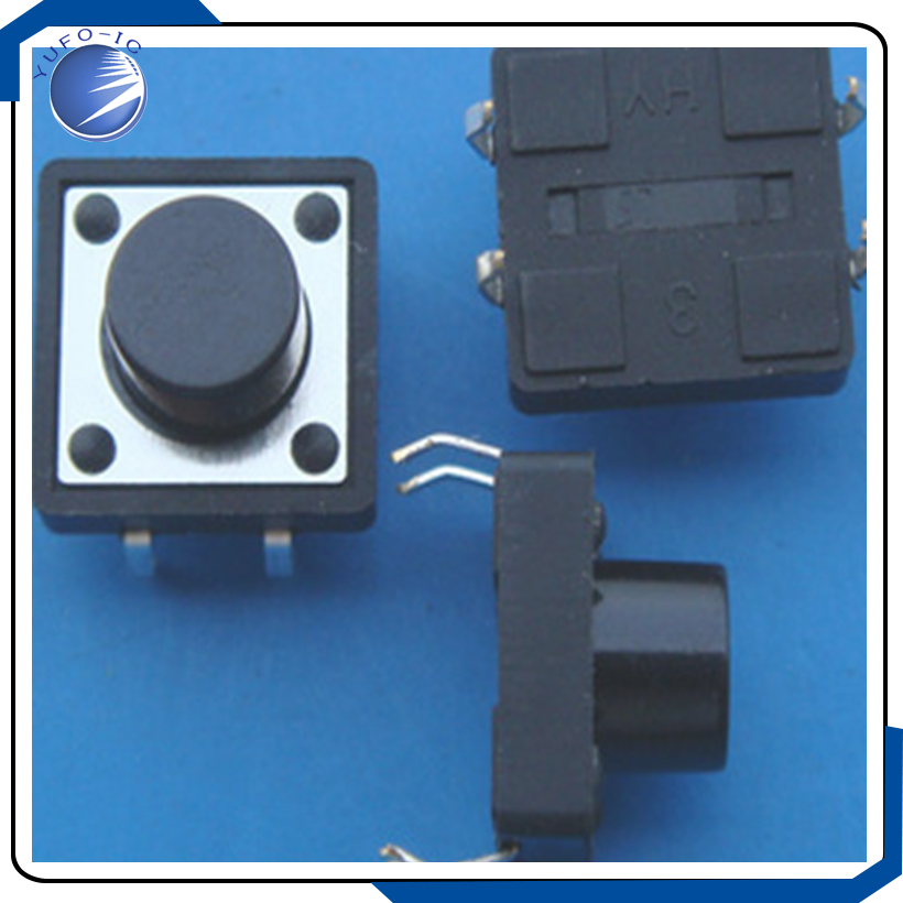 Switches 10pcs/lot 12*12*9.5 Tactile Push Button Touch Switch Imported 12*12*9.5mm 12x12x9.5 Lighting Accessories