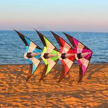 Высокое качество, 1,8 м, двойная линия, трюк, воздушный змей, летающий парашют, Альбатрос, воздушные змеи для взрослых, шторм, латавец, Орел, кайтборд