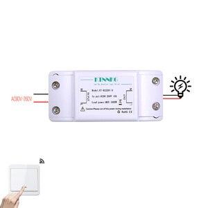 Image 4 - KTNNKG interruptor de luz RF 433Hz interruptor de Control remoto inalámbrico 90 260V Luz de lámpara receptor de interruptor remoto inalámbrico de pared se vende separat