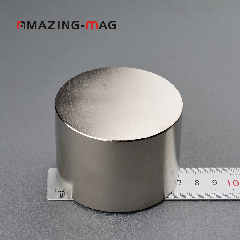 1PC Super Powerful Neodymium Round Magnet D70*50mm  Strong Pull-force Disc Magnet N38 Rare earth NdFeB Lab DIY  Science Testing 1PC Super Powerful Neodymium Round Magnet D70*50mm  Strong Pull-force Disc Magnet N38 Rare earth NdFeB Lab DIY  Science Testing