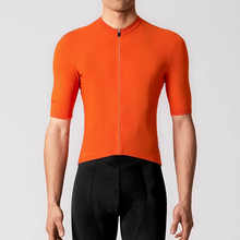 RCC RAPHP 2019 NEW Bright Orange Top Quality Short sleeve cycling jersey pro team aero cut with Newest Seamless process road mtb