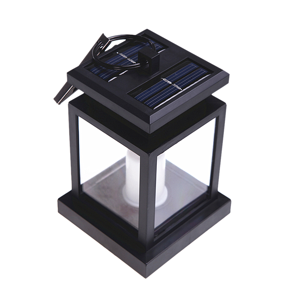 Sale 4Pcs Outdoor Solar Powered Light Twinkle LED Candle Light Yard Garden  Decoration Umbrella Lantern Landscape