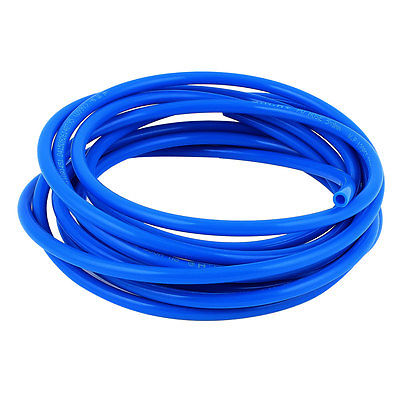 8mm x 5mm Fleaxible PU Tube Pneumatic Hose Blue 5M Length