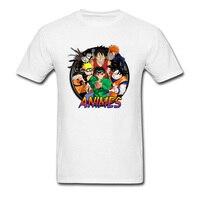 Men T Shirts Naruto Dragon Ball Evolution T Shirt Brand New Fashion Tshirt White Men S