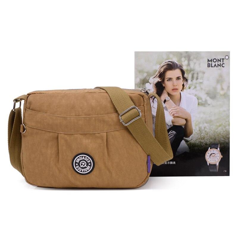 High Quality Women Messenger Bags Fashion Ladies Waterproof Nylon Multi-function Crossbody Bags High Capacity Solid Bags JQ018/q