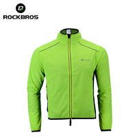 ROCKBROS Cycling Bike Bicycle Jacket Coat Cycling Bicycle Jersey Clothing Windproof Reflective Quick Dry Coat Bike