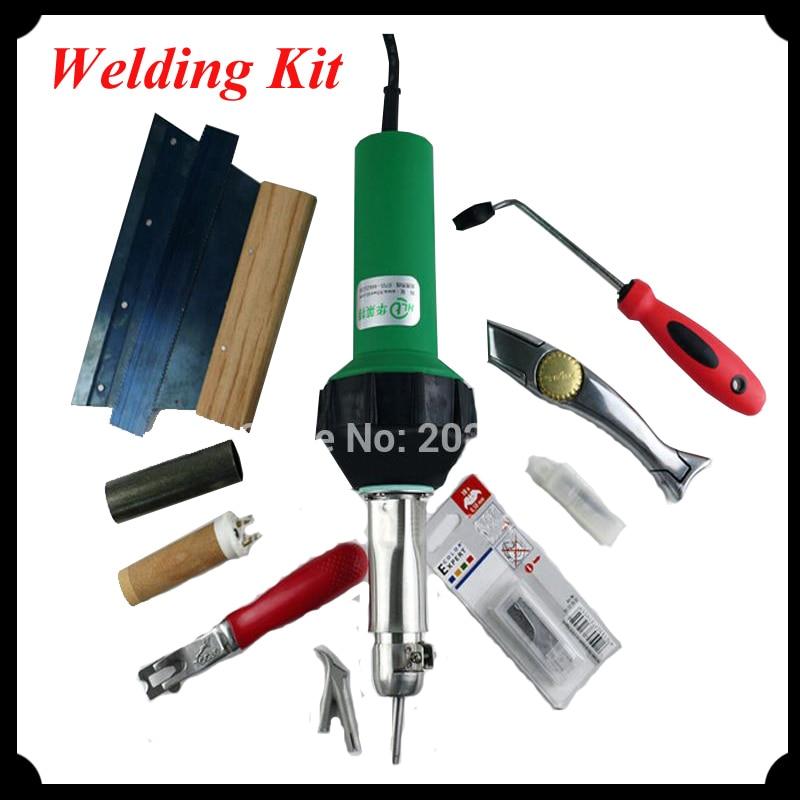 High Quality Hot Air Hand Tool Flooring Kit / 110V -230V 1600W Vinyl Welding Kit