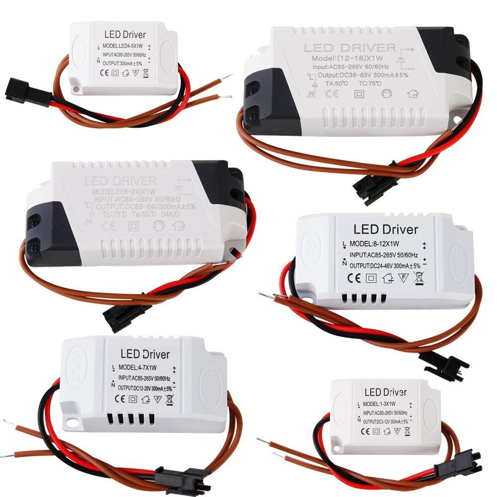 adaptador de CA Ledvero 36w LED transformador premium transformador 950ma fuente de alimentación controlador