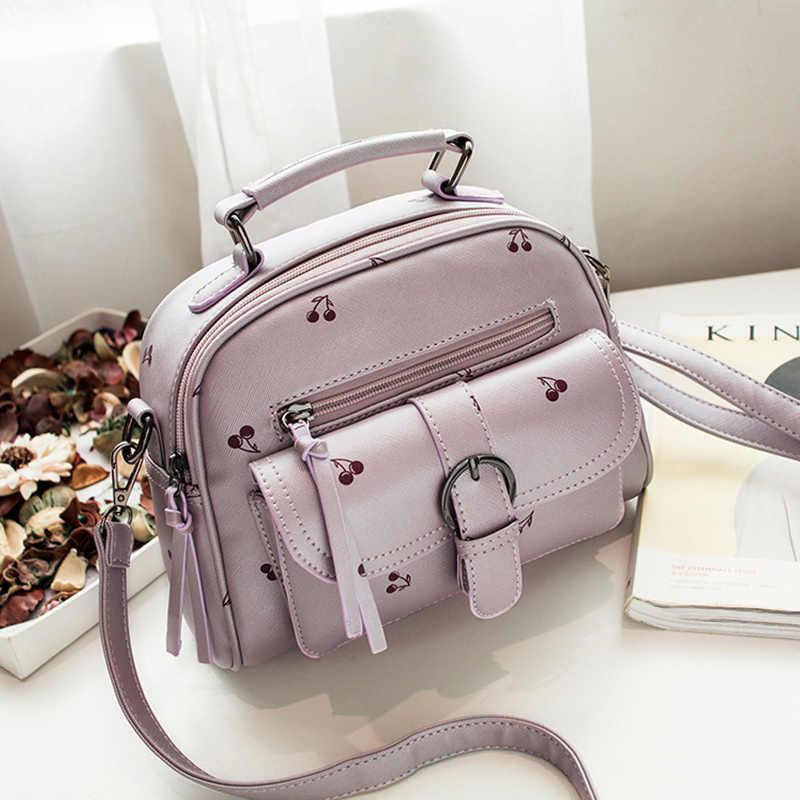 2018 кожаные женские сумки-мессенджеры, модные женские сумки через плечо с клапаном, Женская Высококачественная ручная сумка с принтом, женская маленькая розовая сумка