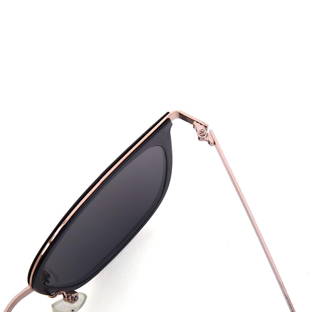 black A Da Silver Specchio Occhiali Golden Di Lusso Steampunk Feida Signora Sole Progettista black Donne Moda Blue black Marca Occhio Del Lucency Uv400 Gatto qBfzvx1w