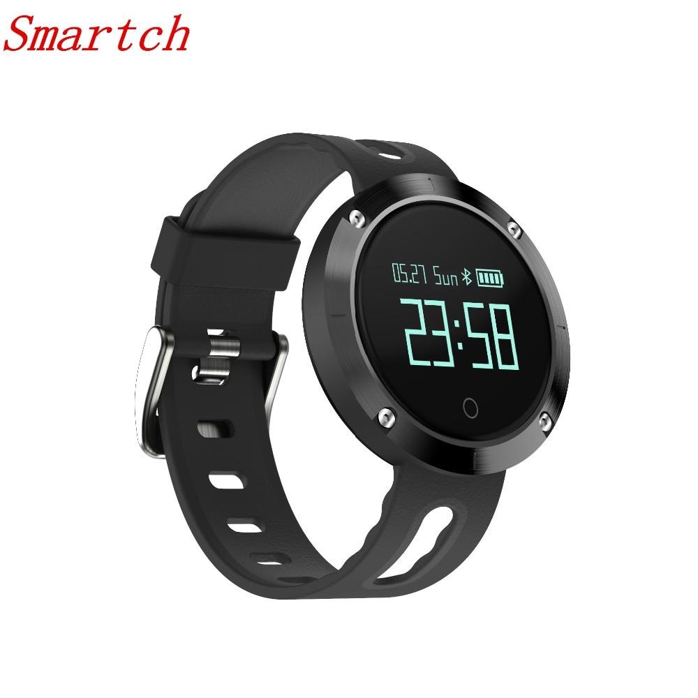 Smartch NEW DM58 Bluetooth 4 0 Heart Rate Blood Pressure Monitor Smart Bracelet Health Tracker IP68
