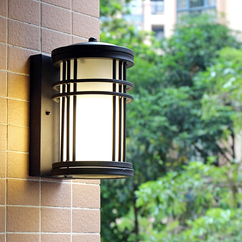 outdoor American industry simple modern European style balcony courtyard waterproof  LED  corridor bedroom wall lamp LO874 european style courtyard of modern living room balcony wall waterproof outdoor staircase simple retro pastoral aisle wall led