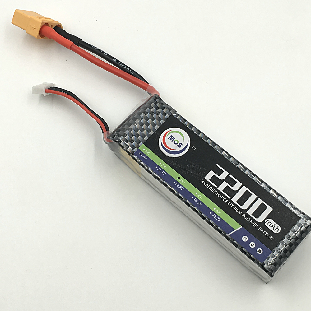 MOS 2S lipo battery 7.4v 2200mAh 25C For rc helicopter rc car rc boat quadcopter Li-Polymer battey yukala ft012 2 4g rc racing boat hq734 rc car 11 1v 2700 mah li polymer battery