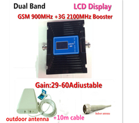 3G GSM Signal Booster UMTS WCDMA Frequency Range Cell Phone Signal Amplifier GSM 900 GSM 2100