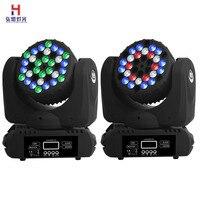 LED 36x3w RGBW Strahl Licht Mit 16 DMX Kanäle Bühne Licht 2 teile/los-in Bühnen-Lichteffekt aus Licht & Beleuchtung bei