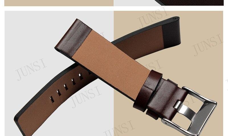 22mm 24mm 26mm 28mm 30mm pulseira pulseira marrom