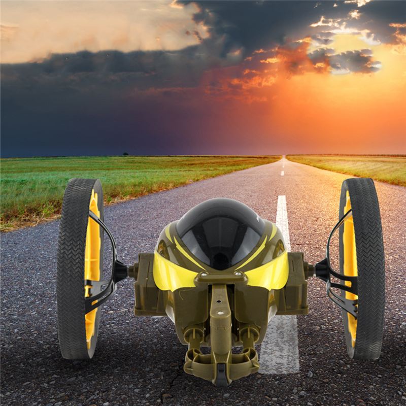ФОТО Rc Car 4 CH 2.4GHz High Speed Remote Control Car Jumping Sumo Rc Toy Bounce Car for Kids